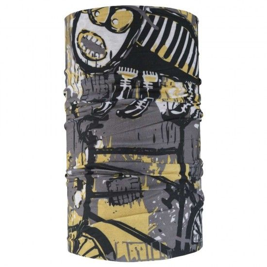 4Fun Bike Cat Tubular Cloth Grey/Yellow