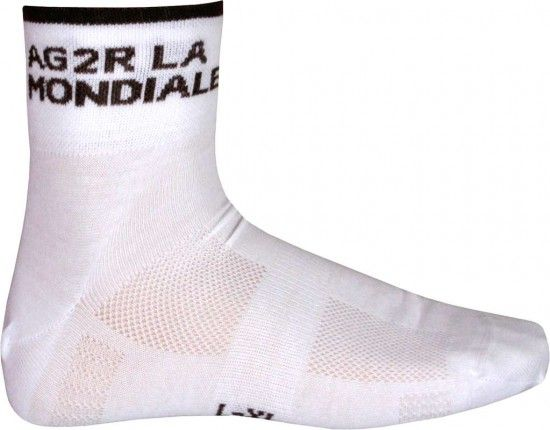 Descente Ag2R La Mondiale 2015 Cycling Coolmax Socks - Professional Cycling Team