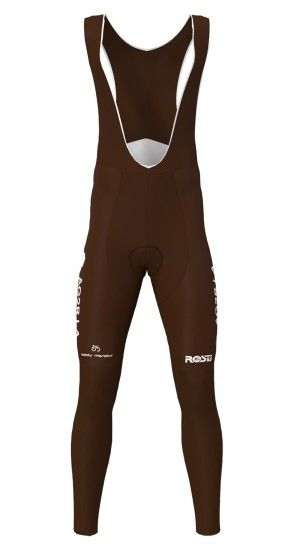Rosti Ag2R La Mondiale 2019 Cycling Bib Tights - Professional Cycling Team