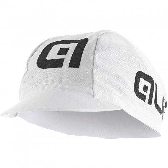 Alé Ale Cotton Cycling Cap White/Black