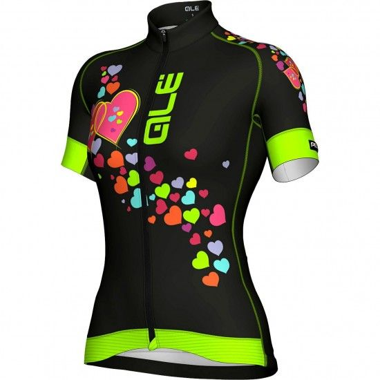 Alé Ale Forever Womens Short Sleeve Cycling Jersey Black