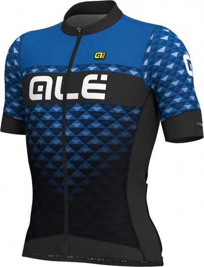 Alé Ale Hexa Short Sleeve Cycling Jersey Black/Blue