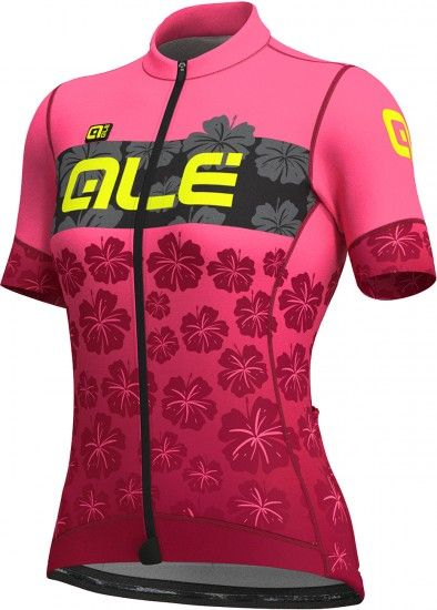 Alé Ale Ibisco Lady Short Sleeve Cycling Jersey Pink