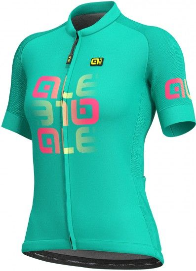 Alé Ale Mirror Lady Short Sleeve Cycling Jersey Green