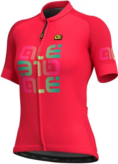 Alé Ale Mirror Lady Short Sleeve Cycling Jersey Pink