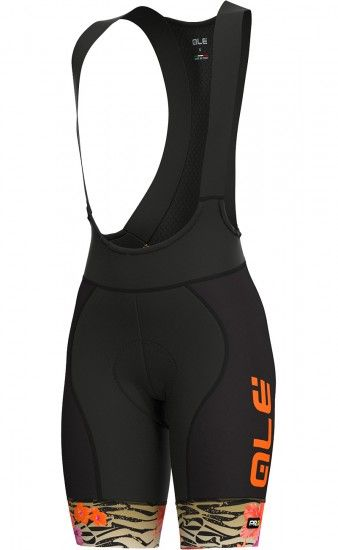 Alé Ale Savana Lady Cycling Bib Shorts Black/Gold