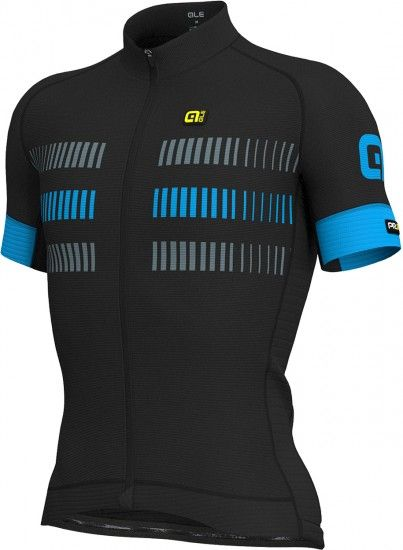 Alé Ale Strada Short Sleeve Cycling Jersey Black/Blue