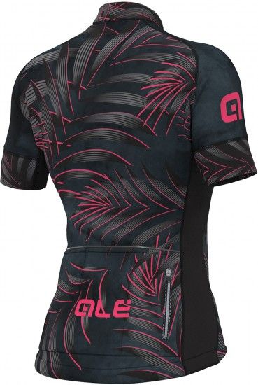 Alé Ale Sunset Lady Short Sleeve Cycling Jersey Black/Pink