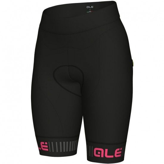 Alé Ale Traguardo Womens Cycling Shorts Black/Pink