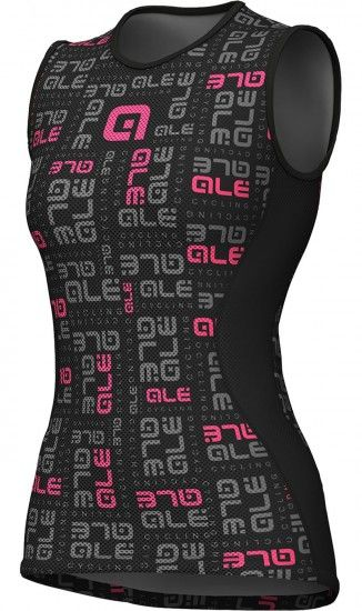 Alé Ale Velo Active Womens Sleeveless Base Layer Black