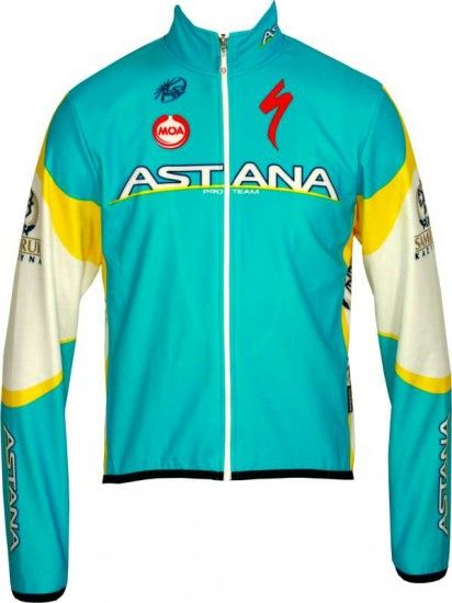Moa Astana 2012 Professional Cycling Team - Jacket/Winterjacket