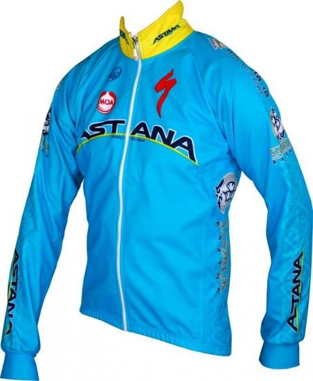 Moa Astana 2015 Winter Jacket - Professional Cycling Team