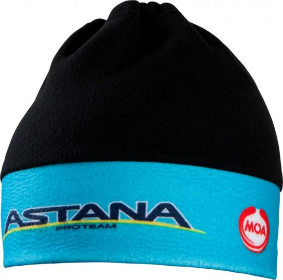Moa Astana 2016 Fleece Winter Cap - Professional Cycling Team