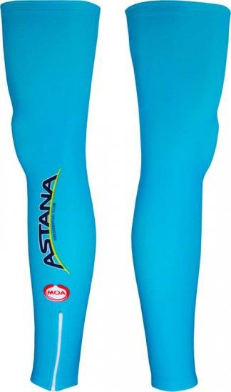 Moa Astana 2016 Leg Warmers - Professional Cycling Team
