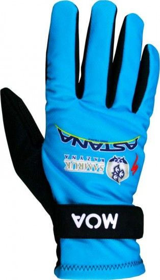 Moa Astana 2016 Long Finger Gloves - Professional Cycling Team