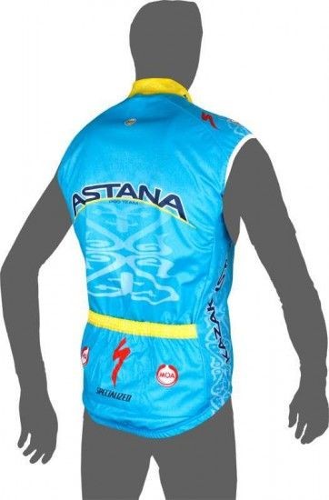 Moa Astana 2016 Wind-Vest - Professional Cycling Team