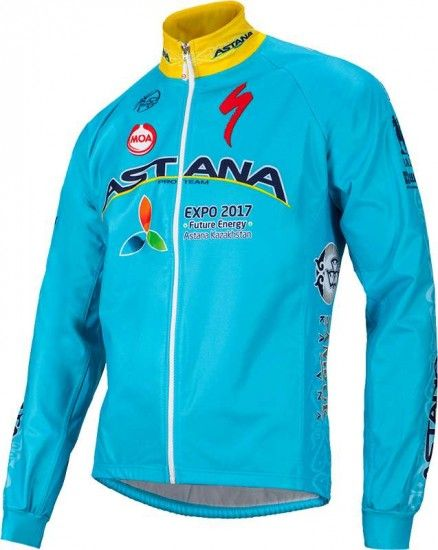 Moa Astana 2016 Winter Jacket - Professional Cycling Team