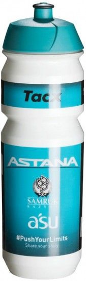 Tacx Astana 2018 Water Bottle 750 Ml - Professional Cycling Team
