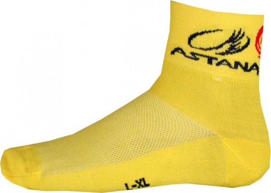 Moa Astana Tour De France Champion 2014 Professional Cycling Team - Cycling Coolmax Socks