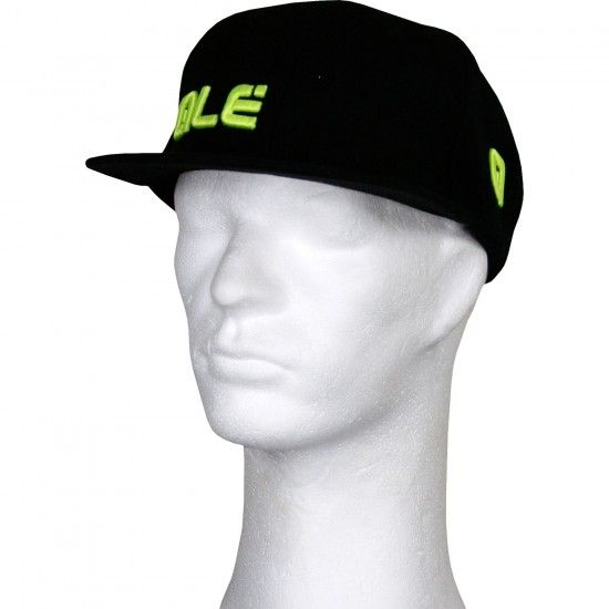 Alé Ale Basecap Black/Fluo Yellow