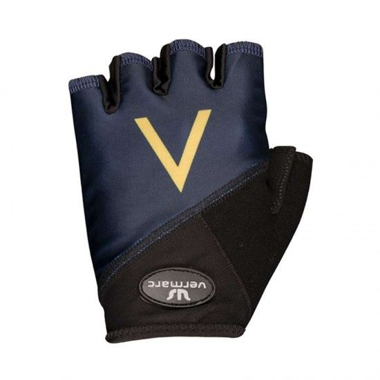 Vermarc Aquablue Sport 2018 Short Finger Gloves - Professional Cycling Team