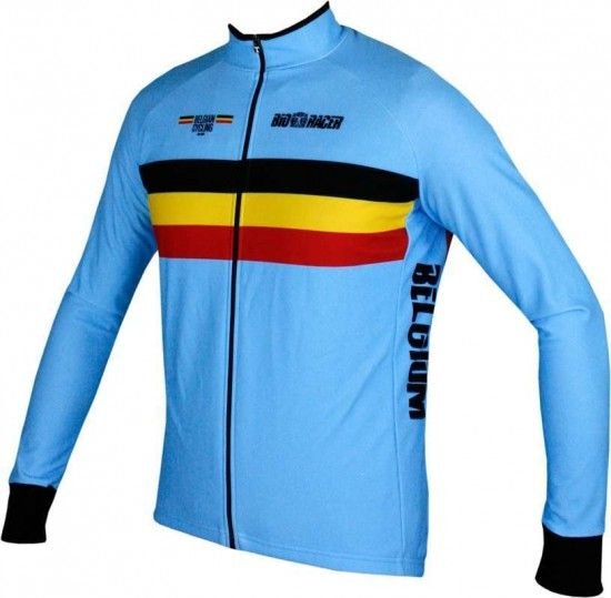 Bioracer Belgium 2019 Long Sleeve Jersey - National Cycling Team