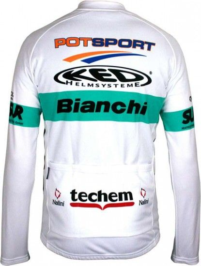 Nalini Bianchi Berlin Limited Edition Long Sleeve Jersey - Professional Cycling Team