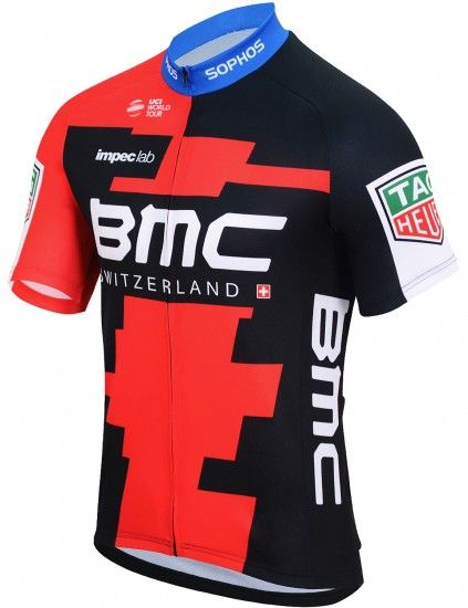 Bmc Racing Team 2018 Promo Short Sleeve Cycling Jersey - Professional Cycling Team