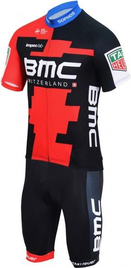 Bmc Racing Team 2018 Kids Promo Set (Short Sleeve Jersey + Bib Shorts) - Professional Cycling Team
