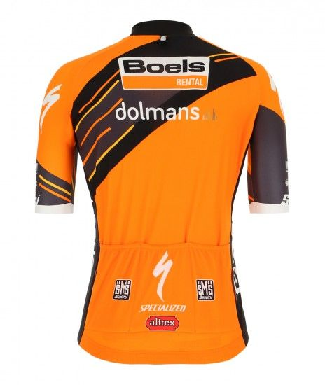 Santini Boels Dolmans Cyclingteam 2019 Set (Jersey + Bib Shorts) - Professional-Cycling-Team