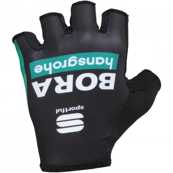 Sportful Bora-Hansgrohe 2018 Short Finger Gloves - Professional Cycling Team