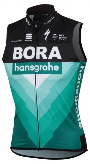Sportful Bora-Hansgrohe 2019 Cycling Gilet - Professional Cycling Team