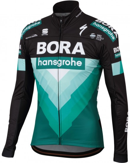 Sportful Bora-Hansgrohe 2019 Winter Cycling Jacket - Professional Cycling Team
