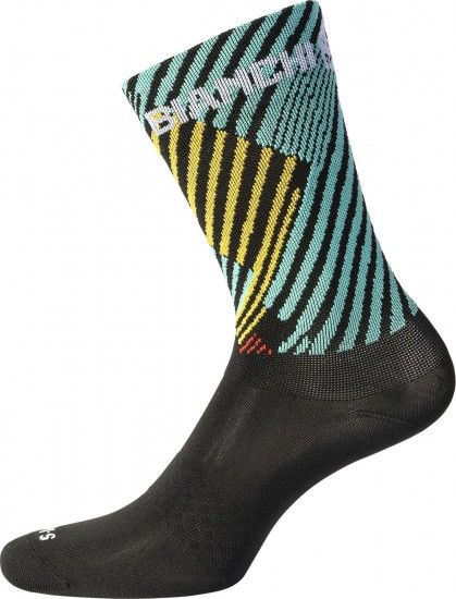 Bianchi Milano Bolca Cycling Socks Multicolor (E18-4010)