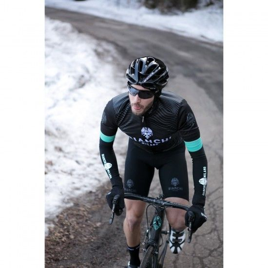 Bianchi Milano Pusteria Winter Arm Warmers Black (I18-4000)