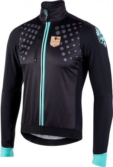 Bianchi Milano Sarentino Winter Cycling Jacket Black (I18-4000)