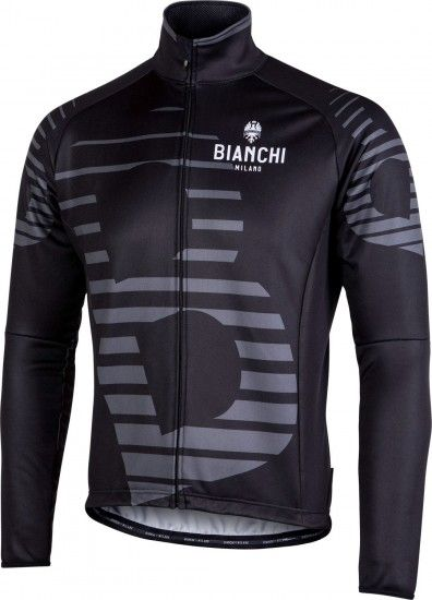 Bianchi Milano Sebato Winter Cycling Jacket Black (I18-4000)