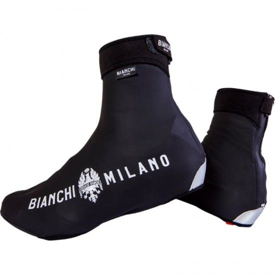 Bianchi Milano Vadena Full Season Cycling Overshoes Black (I18-4000)