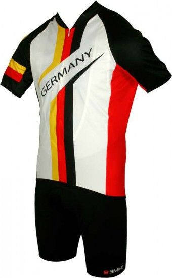 Biemme National New Cycling Short Sleeve Jersey Germany