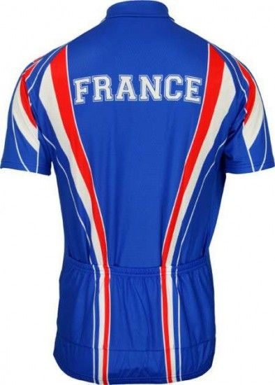 Biemme National Cycling Short Sleeve Jersey France