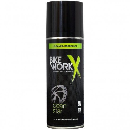 Bike Workx Cleaner High-Tech Cleaner And Degreaser, 200Ml Spray Can