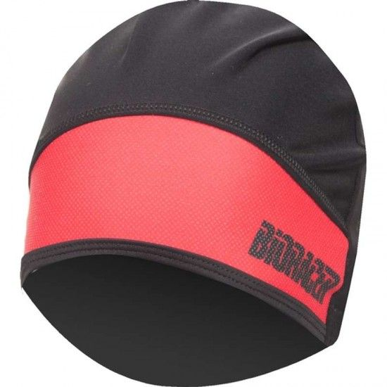 Bioracer Protect Winter Hat Cycling Helmet Liner Black-Red