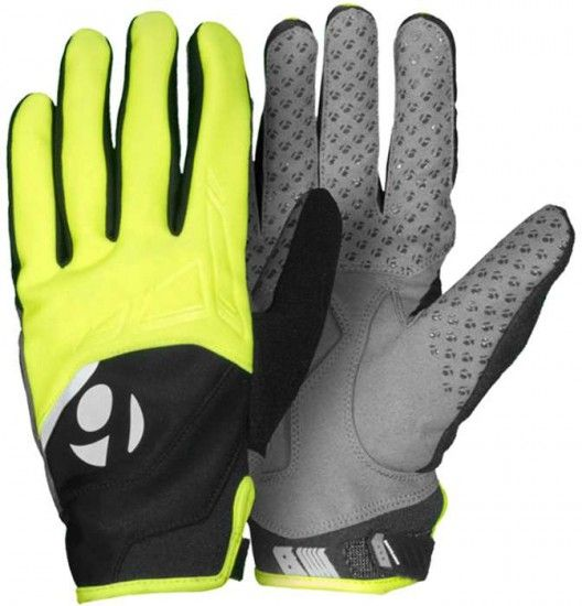Trek / Bontrager Bontrager Race Windshell Long Finger Gloves Hi-Viz Yellow