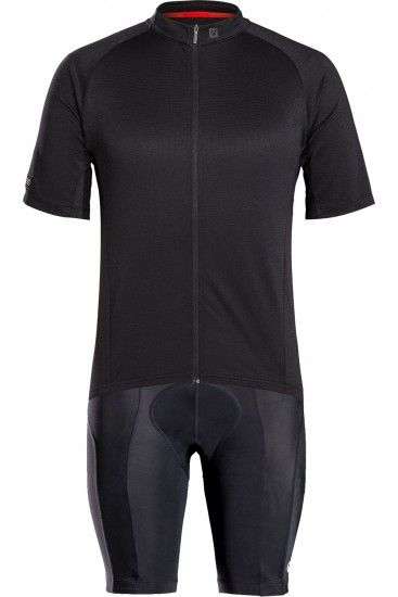 Trek / Bontrager Bontrager Solstice Cycling Set (Short Sleeve Jersey + Cycling Shorts) Black