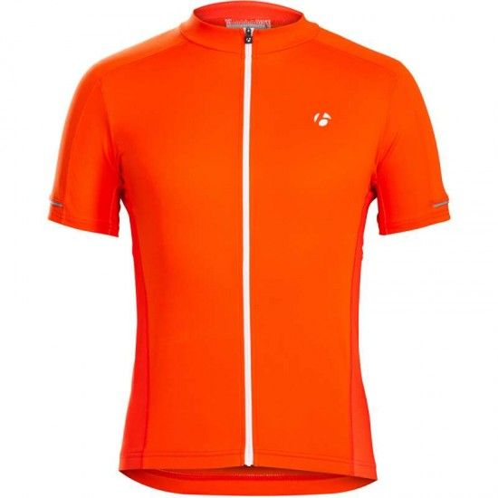 Trek / Bontrager Bontrager Starvos Short Sleeve Cycling Jersey Tomato Orange