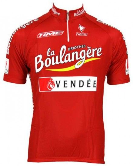 Nalini Brioches La Boulangere 2003 Tricot (Jersey Short Sleeve) - Professional Cycling Team