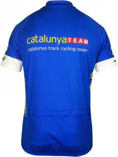 Inverse Catalunya Track Short Sleeve Jersey (Short Zip) - Professional Cycling Team