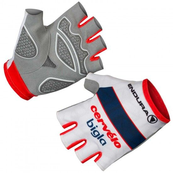 Endura Cervélo Bigla Pro Cycling 2018 Womens Short Finger Cycling Gloves - Professional Cycling Team