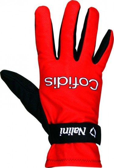 Nalini Cofidis 2016 Long Finger Gloves - Professional Cycling Team