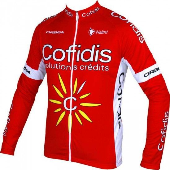 Nalini Cofidis 2016 Long Sleeve Jersey - Professional Cycling Team